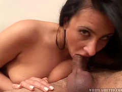 With face whore is the best cock sucking in the world!