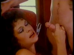 Sensual Retro Brunette Gets Threesomed By Jerry Butler and John Seeman