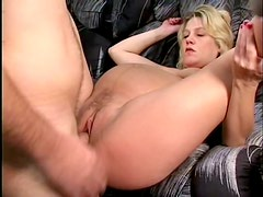 Beautiful Pregnant Blond Loves To Ride Cock