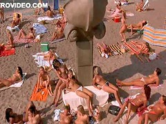 Hot Euro Babes Edita Deveroux and Petra Tomankova Sunbathing Topless