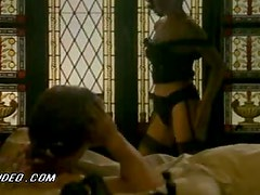 Gorgeous Monica Guerritore Strips and Shows Her Sweet Round Jugs