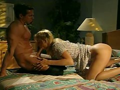 Wild And Passionate Late Night Sex With A Gorgeous Blonde
