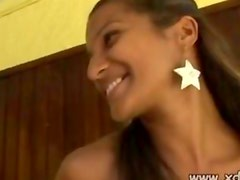 Jack Finds Beautiful Brazilian Claudia Outside His Motel Room And Invites Her In