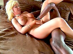 Milf whore opened by big black cock
