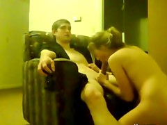 Cute Teen Fucks Her BF On The Sofa