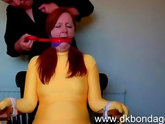 The Gag Challenge Bondage
