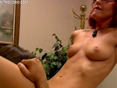 Office Sex with Redhead Beverly Lynne