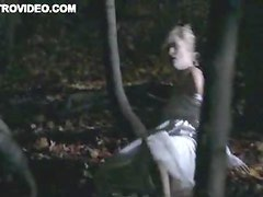 Hot Amy Ciupak Lalonde Running Through The Forest