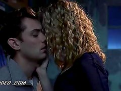 Blonde Beauty Jennifer Jason Leigh Lets Jude Law Grab Her Jugs and Ass