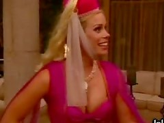 Cheryl Hines Dressed Up Like a Genie