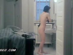 Sexy Valentine Demy Coming Off the Shower