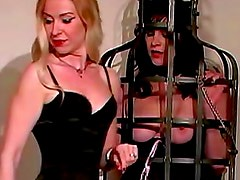 Lesbian dominatrix loves to play with sub girls