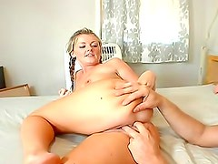 Young Sophie Dee in sporty reality porn