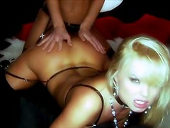 A hot Lesbian Scene With The Sexy babes Silvia Saint
