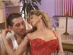Pussy Drilling And Gagging Action With A Hot Blonde
