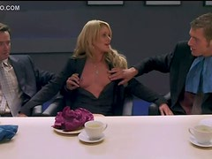 Heather Smith Showing Her Tits In Business Lunch
