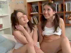 Student threesome after school