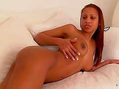 Solo black girl with a tight ass