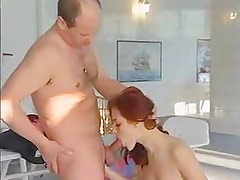 German redhead fucked in gym (full version)