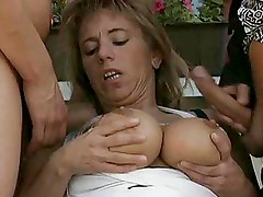 German BBW Milf Shared Between Two Horny Guys by TROC