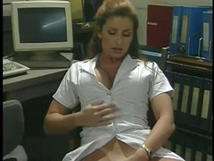 Horny Retro Nurse Shanna McCullough Masturbating