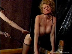 Submissive Blonde MILF Gets Tortured in a Sex Dungeon