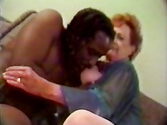 65 yo granny enjoys a big black cock