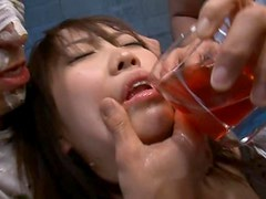 Japanese Doll Gets Abused By Two Guys