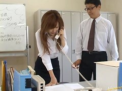 The Whole Office Abusing The Secretary