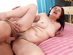 Horny Mature on Bed