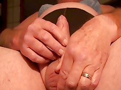 Black Girdle Jerk-off