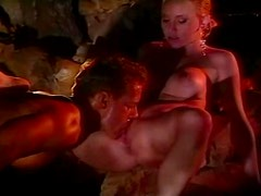 Alicyn Sterling enjoys Rocco Siffredi's cock in her tight slit