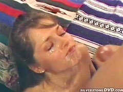 Peter North doesn't disappoint brown-haired cutie Lori Michaels