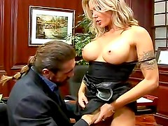 Anna Nova pornstar hardcore sex in office