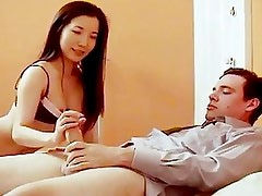 Nerdy Sex Geek Gets Lucky With A...
