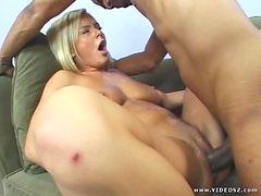 Bree Olson Has Fun With A Huge Black Cock
