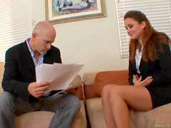Allie Haze Gets All Her Holes Serviced By A Big Fat Dick