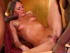 Angelica Costello needs three big black cocks to be satisfied