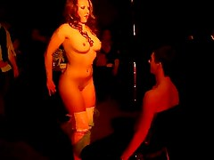 Halloween Party Striptease