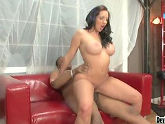 College Going Chick Fucks Her Black Step Father
