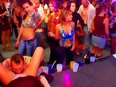 Foreplay at the sexy night club party