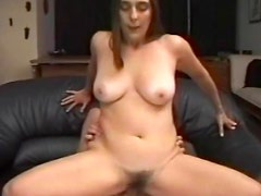 She craves cock in hairy mature pussy