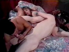 Bisexual threesome with sucking and anal