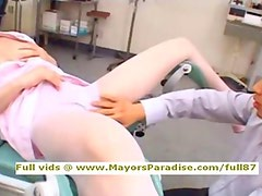 Akiho Yoshizawa innocent lovely Chinese nurse enjoys toying