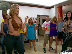 College Bangbros Sex Party Packed With Horny Babes