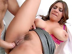 Lady doctor fucked by fit young man