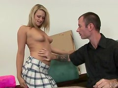 Heather Starlet gives a blowjob and gets unforgettably fucked