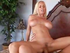 Hot Totally Tabitha bounces her pussy on this hard dick