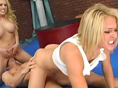 Kagney Linn Karter and Krissy Lynn threesome