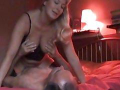 Horny amateur rides her wet slot on this hard dick